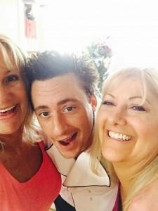 Chef Ben Robinson with Linda P. Jones and Kathy Stover