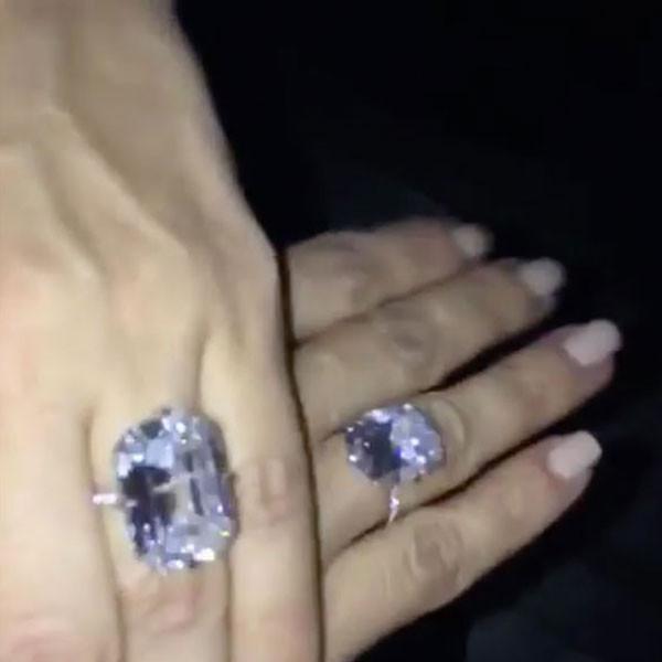 Kim Kardashian Rings